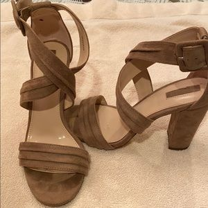 Chunky-heeled heels. Size 8. GREAT condition.